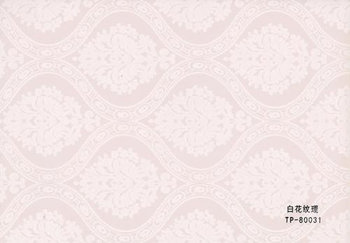 白花纹理墙纸