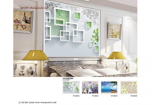 5D竹木纤维墙板